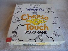 Diary of A Wimpy Kid Cheese Touch Board Game 100 % Complete EUC 2010 Pressman