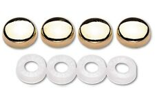 Gold Colored Screw Bolt Caps Covers for License Plate Frame Car Truck Motorcycle