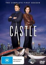 CASTLE (COMPLETE SEASON 1 DVD SET - SEALED + FREE POST)