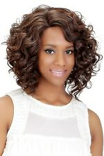 Vivica A Fox Synthetic Short Full Wig from Pure Stretch Cap Curly Style Eloise