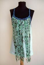 Custo Barcelona Fringe Front Tank Top - size 3