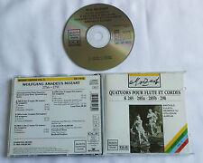 MOZART/KUIJKEN Flute quartets K.285,285a,285b,298 AUSTRIA CD DHM VD 77518(1990