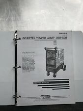 Lincoln Electric Invertec Power Wave Service Manual 350 / 500 SVM109A