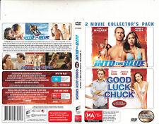 Into The Blue-2005-Paul Walker/Good Luck Chuck-2007-2  Movie-2  DVD
