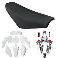 Fairing Plastic Fender Kit Graphics Seat for CRF XR 50 110 125cc SSR SDG 107 Pit