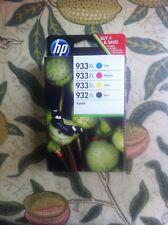 Set of 4 Original Genuine HP 364 Ink Cartridges Photosmart Printers 5510 B110a