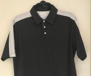 Murray golf grey polo shirt large