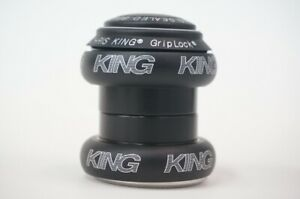 New CHRIS KING NoThread Headset 1-1/8inch Matte Jet FJ0044 Free Shipping