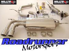 MILLTEK GOLF GTI MK5 EDIZIONE 30 Sistema Di Scarico Turbo Indietro Non Res Inc SPORT CAT