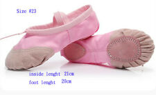 Canvas Ballet Shoes Slippers Split Sole Flats For Children &Adults selection one