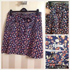 Ben Sherman Warp style Ditsy Floral vrai look vintage à nouer à la taille jupe taille-M NEUF