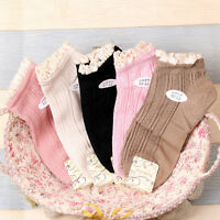 5 Pairs Nylon Lace Womens Cotton Socks Lot Crew Ankle Low Cut Casual Dress Socks