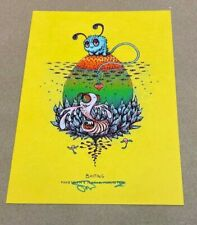 "Marq Spusta ""Baiting"" Bright Yellow Edition Mini Art Print"