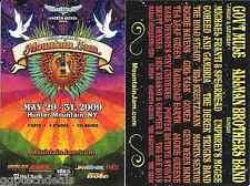 Allman Bros. Michael Franti Gov't Mule Concert Handbill Mini-Poster Mt. Jam 2009