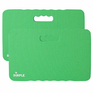 Dimple (2 Pack) High Density Thick Foam Comfort Kneeling Pad Mats for Gardening