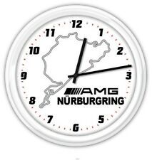 Nurburgring AMG SILENT Wall Clock - Mercedes Benz Car SUV Garage Shop Man Cave