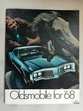 "1968 ""Oldsmobile for '68"" Dealership Brochure  442 Cutlass Tornado"
