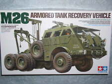 Tamiya 1/35 m26 US Armored Réservoir Recovery Model Heavy Vehicle Kit #35244