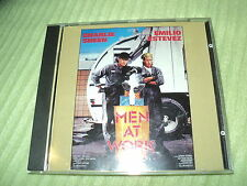 "RARE! CD BOF ""MEN AT WORK avec Charlie Sheen & Emilio Estevez"""