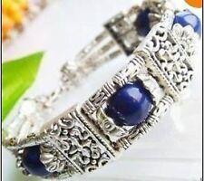 Rare beautiful Tibet 10mm Lapis lazuli beads bracelet adjustable