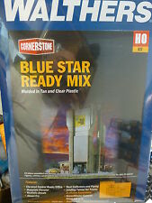 Walthers Cornerstone HO #3086 Blue Star Ready Mix -- Kit -  NEW Release