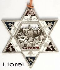 Magen/Star of David Wall Decor JERUSALEM CITY Holy Land Bible 12 Tribe of Israel