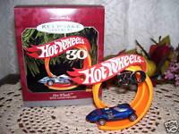 1998 Hallmark Ornament Hot Wheels 3oth Anniversary