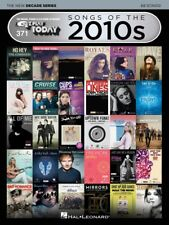 New EZ Play #371 Songs of the 2010s Piano Music Book - New Decade Series