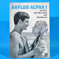 """2097 Film Für Sie 37/1971 DDR """"Anflug Alpha 1"""" Alferd Müller Stefan Lisewski"""