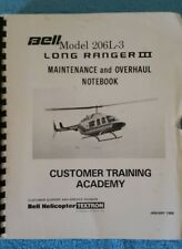 Bell Model 206L-3 Long Ranger III - Maintenance and Overhaul Notebook Training