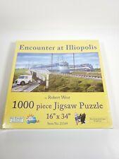 "Encounter At Illiopolis 1000 Piece Jigsaw Puzzle 16""x34"" New"