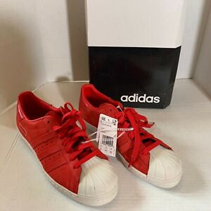 adidas superstar 80s Red Size 8.5