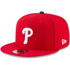 Philadelphia Phillies P New Era MLB Snap 9FIFTY Snapback Hat Cap Red 950