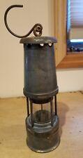 Vintage Lamp The Wolf Safety Wm Maurice Sheffield Lantern