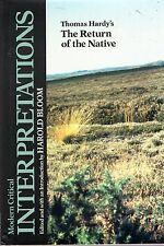 "Bloom, Prof. Harold (editor) THOMAS HARDY'S ""RETURN OF THE NATIVE"" (MODERN CRITI"