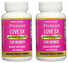 Natural Female Sex Pill Boosts Sex Drive, Pleasure and Desire- Love SX x2