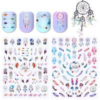 3D Nail Sticker Dream Catcher Nail Art Adhesive Transfer Stickers  Decor