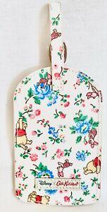 Cath Kidston Disney Winnie the Pooh Luggage ID Tag Ticket Holder Bramley Sprig