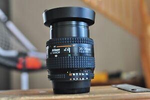 Nikon AF 35-70mm lense FX Nikon D70,80,90,200,300,600,700,750,800,810 ,7000