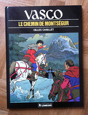 VASCO TOME 8 LE CHEMIN DE MONTSEGUR EO TTBE (D14)