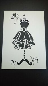 picture mount or stencil mannequin dress multi listing