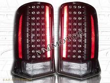 02 03 04 05 06 CADILLAC ESCALADE BLACK LED TAIL LIGHTS 2002-2006