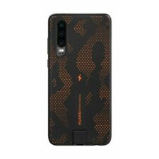 Official Genuine Huawei P30 Qi Wireless Charging Case - Dynamic Orange 55030843