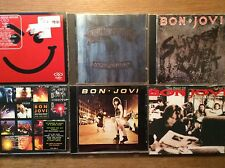 BON JOVI [6 CD Albums] One Wild Night + Have a Nice Day (Dual Disc) + Slippery +