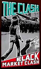 the Clash 1980 BLACK MARKET CLASH punk poster guaranteed original