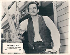 THE BRAZEN BELL ORIGINAL LOBBY CARD THE VIRGINIAN GEORGE C. SCOTT PORTRAIT