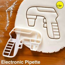 Electronic Pipette cookie cutter | Microbiology Chemistry Biology science lab