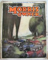 The Morris Owner Sep 1927 Vol IV No 7 Car Magazine 1928 Car Programme