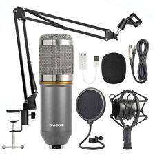BM800 Condenser Microphone Professional Studio Vocal Recording Mic Stand Xmas