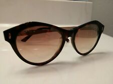 TODS Tod's Sunglasses TO-168 52F 54x17 140 3 Black Frame on face but metal side